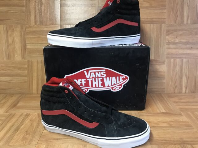 8121d975d4a426 NEW🔥 VANS SK8-Hi Notchback PRO Christian Hosoi Sun Black Red Sz 13 Men s