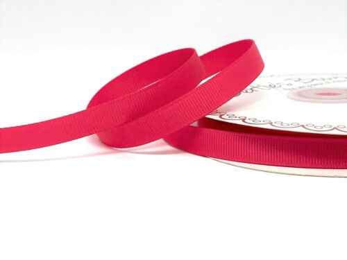 sold on a 25m roll Bertie/'s Bows 9mm Grosgrain Ribbon