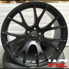 "20"" Hellcat Style Wheels Satin Black Rims Fits Dodge Magnum Charger Challenger"