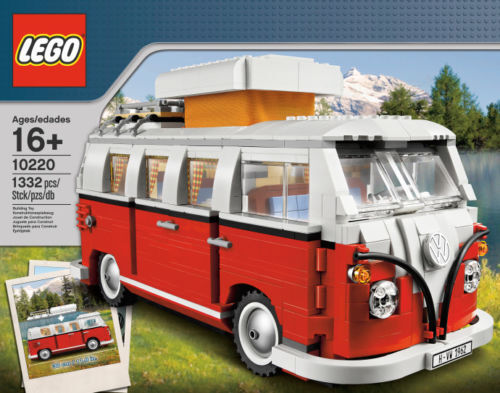 Lego Creator Expert 10220 Volkswagen T1 Camper Van - Brand New & Sealed