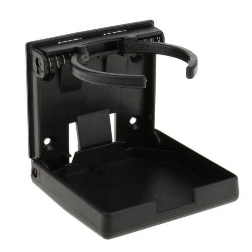 Auto Kunststoff Einbaubecher Getränkehalter Becherhalter für RV PKW Schwarz