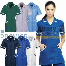Womens Daisy Healthcare Tunic Nurse Dentist Carer Hospital Uniform Workwear