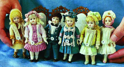 "4/"" Reproduction Antique Doll Molds by Doreen Sinnett"