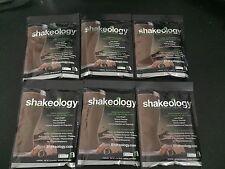 Shakeology 6 Chocolate Individual Single Serve Packets Packs Beachbody