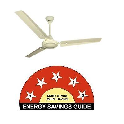 Crompton BEE 5 Star Power Saver Ceiling Fan HS Plus  ( Ivory ) 1200 MM (48')