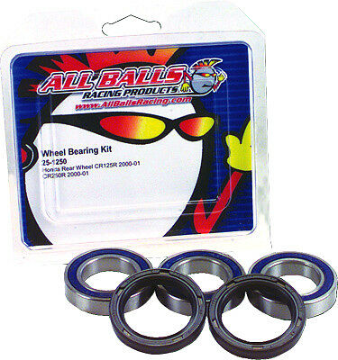 ALL BALLS REAR Wheel Bearing & Seal Kit Kawasaki KZ900 1976-77 Z1 1973-75