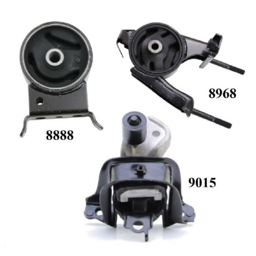 3 PCS MOTOR /& TRANS MOUNT FIT 2004-2006 Scion XB 1.5L for Manual