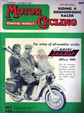 Oct 20 1960 ARIEL 'Leader 250cc Twin' Motor Cycle ADVERT - Magazine Cover Print