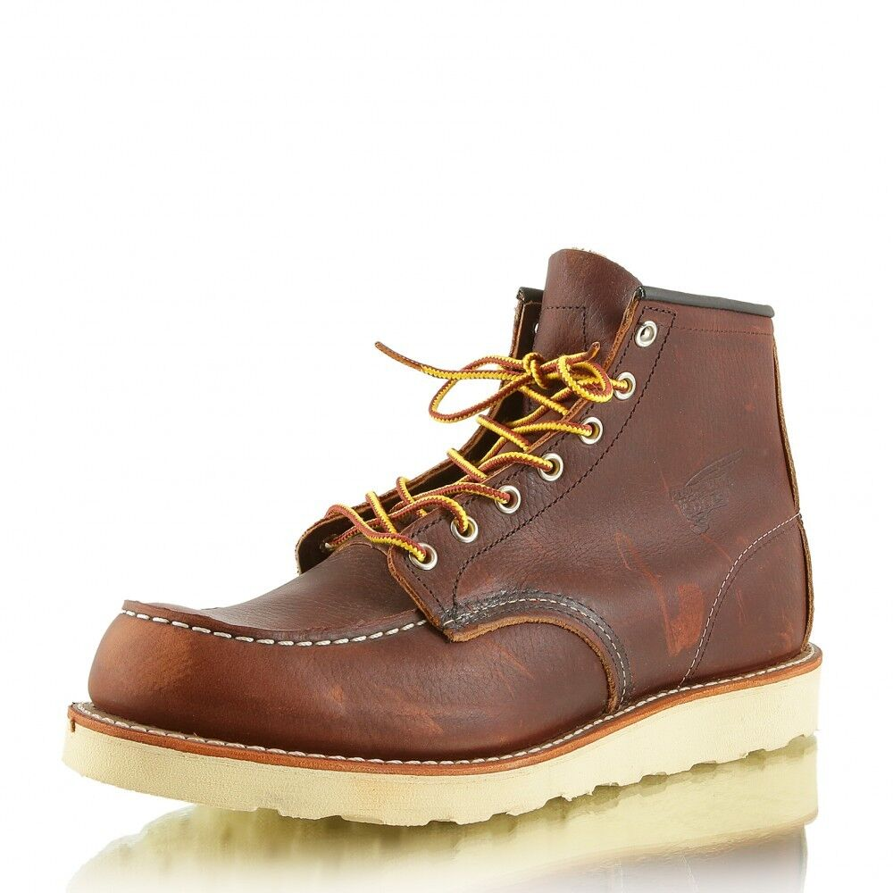 RED WING 8138 Moc Toe Briar Oil Slick