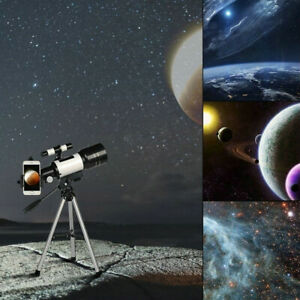 150X-70mm-Aperture-Astronomical-Telescope-Refractor-Tripod-Star-Finder-for-Kids