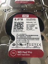 Western Digital 6TB Red Pro WD6001FFWX 7200RPM -- Warranty Until 2021