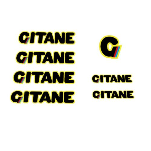 Stickers n.400 Transfers Gitane 1980s Bicycle Decals