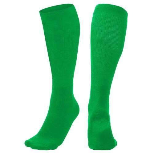 Mens /& Womens Large Solid Color Baseball Socks Sock Size 10-13 2 PAIR