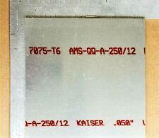 7075 T6 Aluminum Sheet 050 Thick X 120 Width X 120 Length