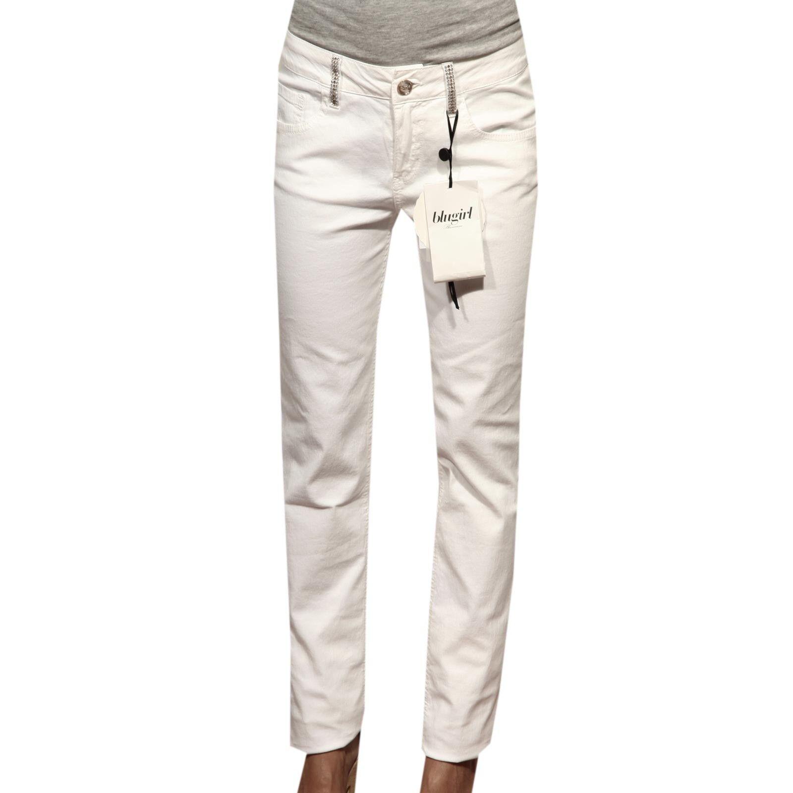 83155 jeans BlauGIRL BlauMARINE pantaloni lunghi damen trousers damen