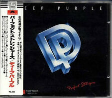 DEEP PURPLE Perfect Strangers JAPAN W GERMANY 1st Press CD 1985 W/Sticker Obi