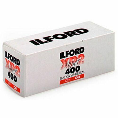 Ilford XP 2 Super 400iso roll película 120 1 película MHD 02//2021