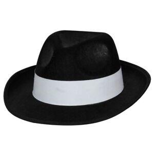 Caricamento dell immagine in corso Gangster-Al-Capone-Cappello -Nero-Anni-039-20- da5447f49f9e