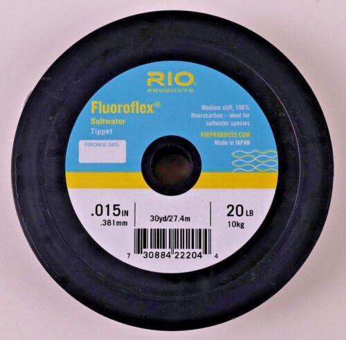 environ 11.34 kg Rio Fluoroflex Saltwater Tippet Bobines 16 20 25 lb livraison gratuite Options
