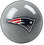 New England Patriots Shift Knob Billiard Pool Ball NFL Threaded Custom Shifter
