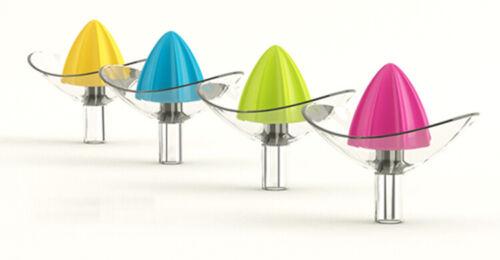Saftpresse Seashell Zitruspresse Hand Saft Presse 4 Farben Zitronenpresse Neu