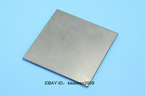 Details about 100mm x 100mm x 1mm Titanium Plate Purity Ti Sheet 1mm Thick  TA2 Grade 2 Tool