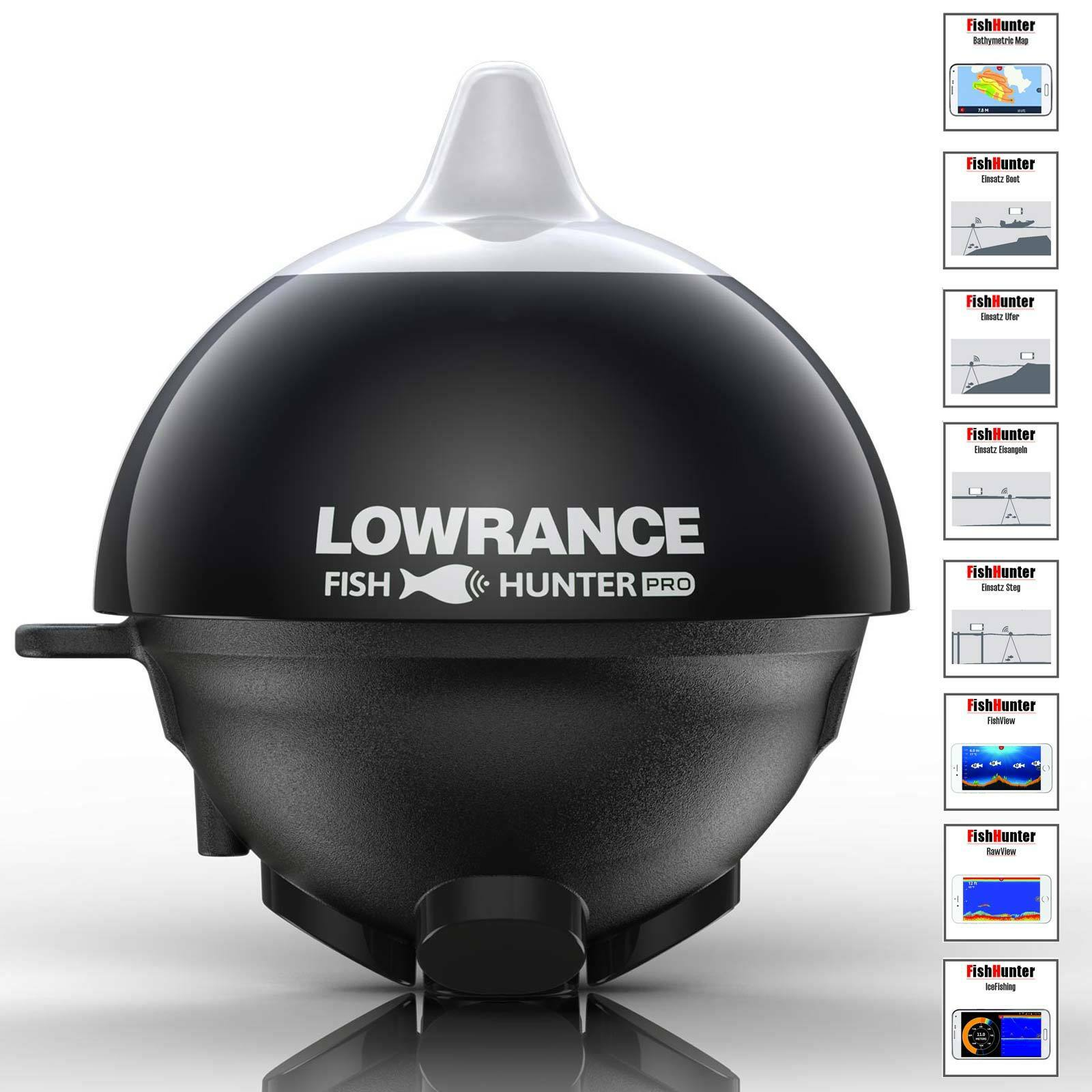 Lowrance FishHunter Pro WiFi - Uferangler Echolot