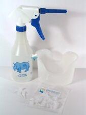 Rhino Ear Wash Washer Kit w/Tips & Ear Basin For Ear Wax Cleaning & Lavage New