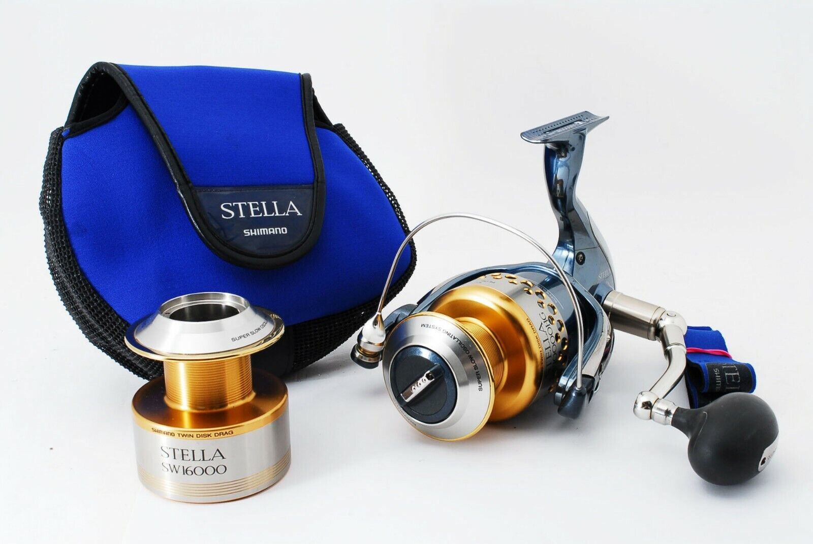 Excelente + +  Shimano 01 Stella solo Weave 10000HG Spinning Cocheretes 407187