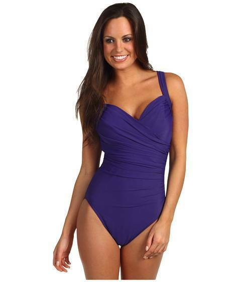 MIRACLESUIT SANIBEL MIRACLE SWIM SUIT U W 'DD' BRA BATHING SWIMMING COSTUME