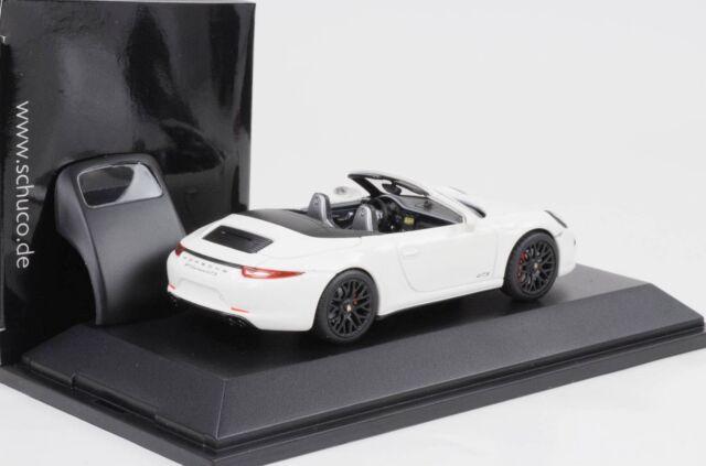 Porsche 911 type 991 Carrera 4 GTS Cabriolet schwarz 1//43 Schuco 450758700