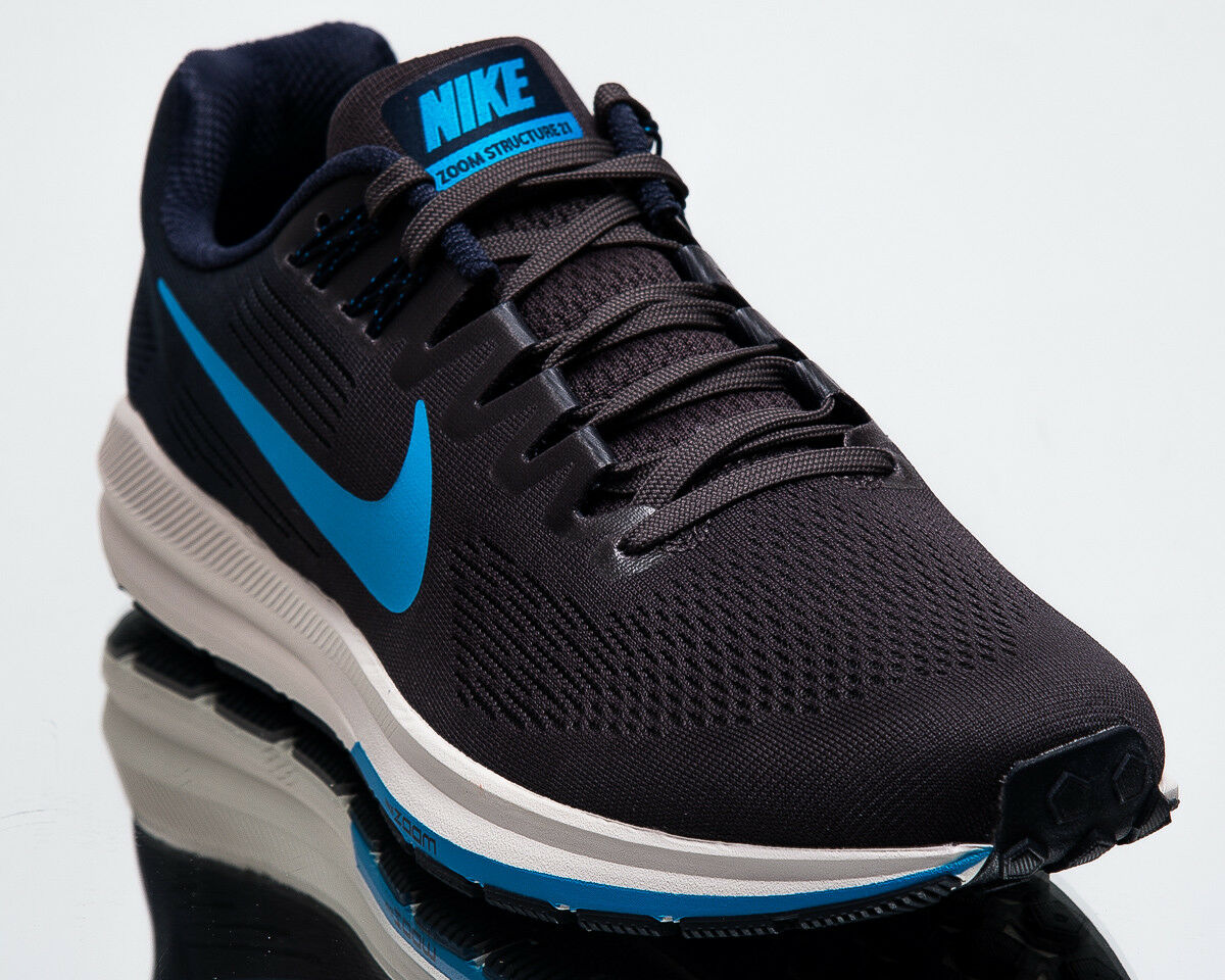 Nike Air Zoom Structure 21 Men New Obsidian blueee Hero Running shoes 904695-404