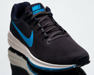 d904bfb2745c Nike Air Zoom Structure 21 Men New Obsidian Blue Hero Running Shoes ...