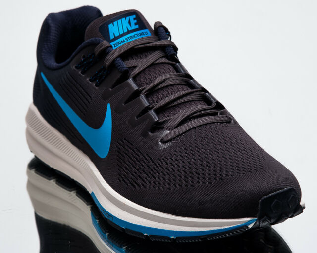 9629eaaa9034 Nike Air Zoom Structure 21 Men New Obsidian Blue Hero Running Shoes  904695-404