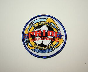 Details about 2 NJ Soccer Team 8th Parsippany Pride Invitational Tour Patch  New NOS 1996