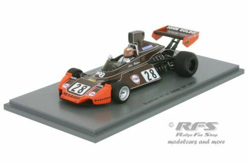 Brabham bt44 Ford-John Watson-fórmula 1 gp italia 1974-1:43 Spark 5259