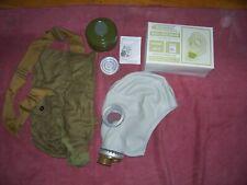 Orig Unissued Nbc Civil Gas Mask Model Gp 5 Sz X Large Complete With Bag