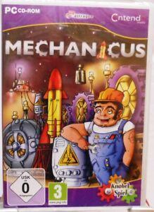 Mechanicus-PC-Spiel-Physik-Knobel-Spiel-mit-ueber-100-Level-Neuware-M38