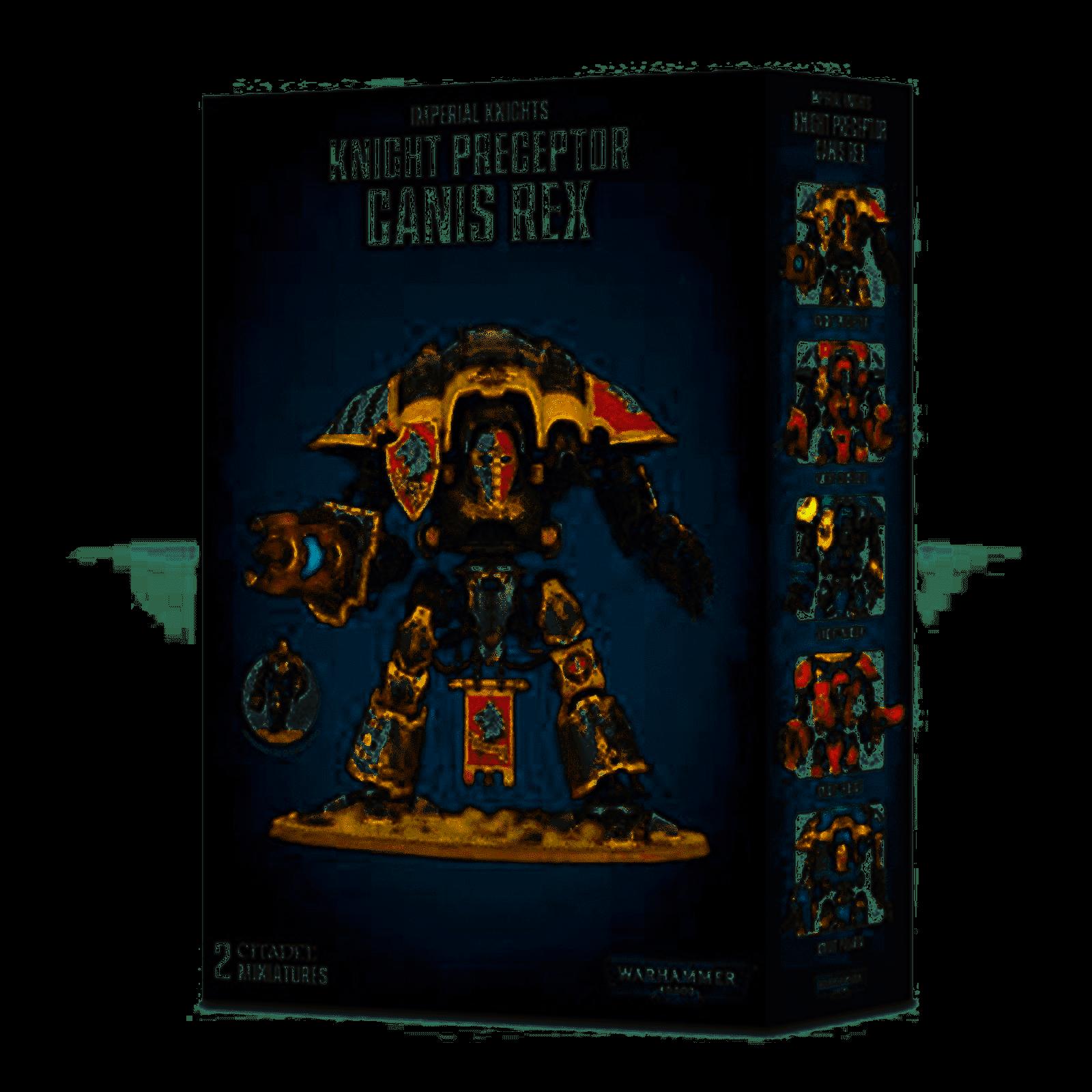 Games Workshop  54-15  Warhammer Imperial Knights CHEVALIER précepteur Ganis Rex NEUF  connotation de luxe discret