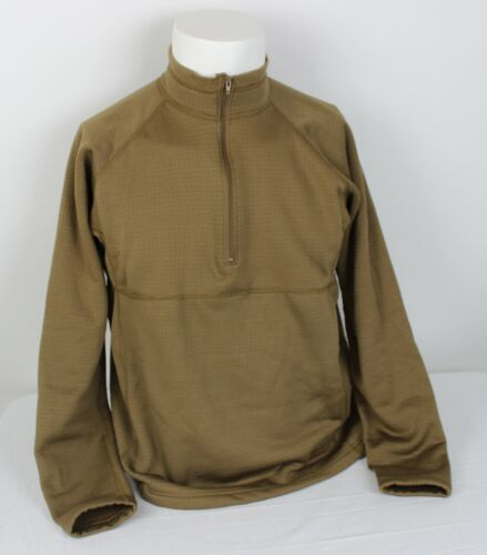 Level 2 Small EUC Coyote Brown Genuine Military Issue PCU Grid Fleece