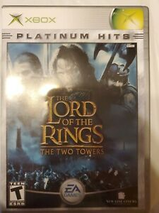 The-Lord-Of-The-Rings-The-Two-Towers-Xbox-Game-No-Manual