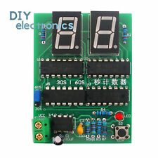 Diy 30s 60s Cd4518 Counter Timer Electronic Practical Training Suite Dc 5vus