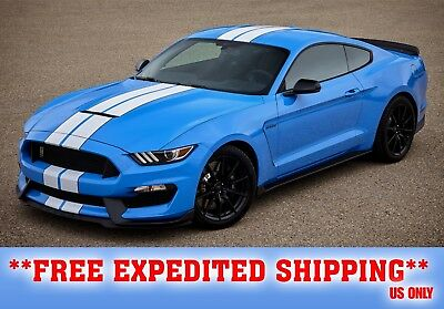 """SHELBY COBRA GT 350 MUSTANG FORD SVT  43/"""" x 24/"""" LARGE HD WALL POSTER PRINT NEW"""