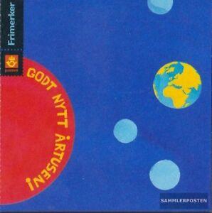 Norwegen-1335-1336MH-I-kompl-Ausg-Markenheftchen-gestempelt-1999-Jahrtausendw
