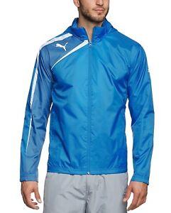 Jacken Zu Windbreaker Jacke Regenjacke Trainingsanzug Blau Puma Regenmantel Details Mens rQdCtsh