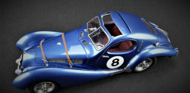CMC M-167 ✅ 1938 Talbot Lago Type 150 SS Teardrop  8 ✅ 1488 parts FREE SHIPPING