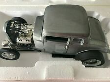 ACME 1:18 1932 HAMMERED STEEL FORD 5 WINDOW BEST PRICING CASE NEW A1805013