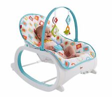 FISHER PRICE INFANT TO TODDLER VIBRATING SEAT & ROCKER Baby Feed Play Rest NEW