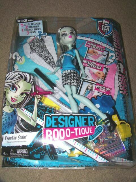 Mattel 2015 Monster High Frankie Stein Designer Booo Tique Doll For Sale Online Ebay
