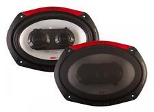 """Vibe Pulse 69 6x9"""" 150mm x 222mm 300W 3-Way Car Audio Door Shelf Speaker Pairs"""